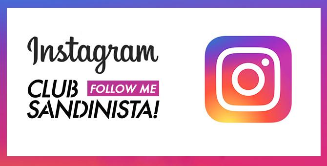 Instagram clubsandinista
